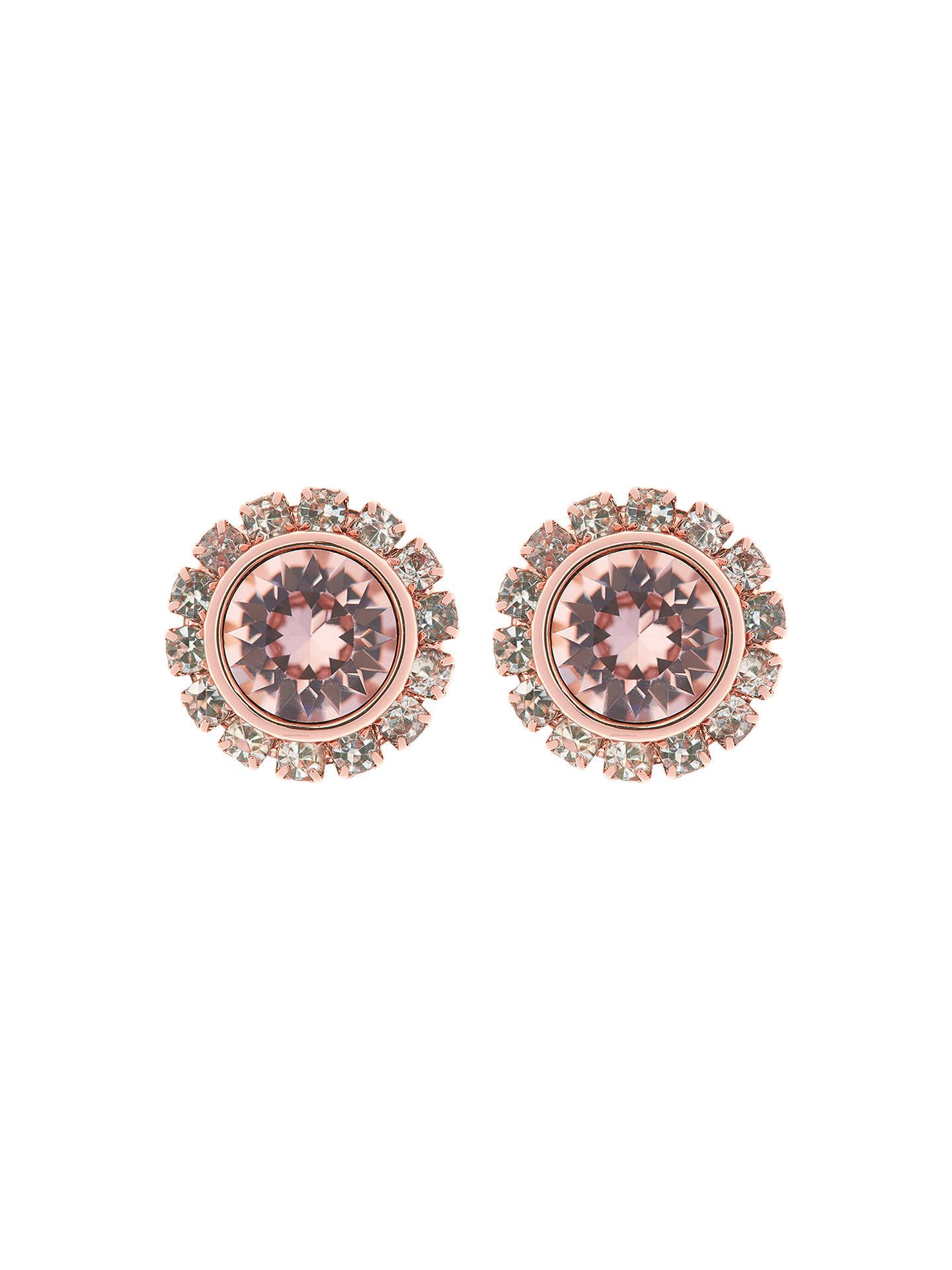 151b7735985e Ted Baker Sully Swarovski Crystal Stud Earrings at John Lewis   Partners