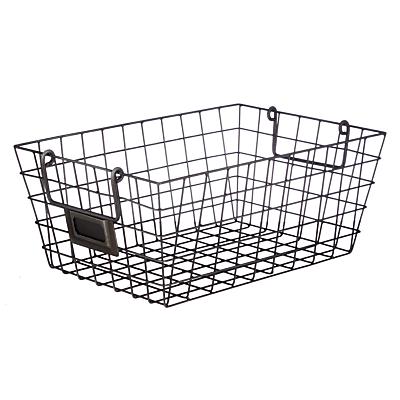 John Lewis Croft Collection Antique Wire Basket