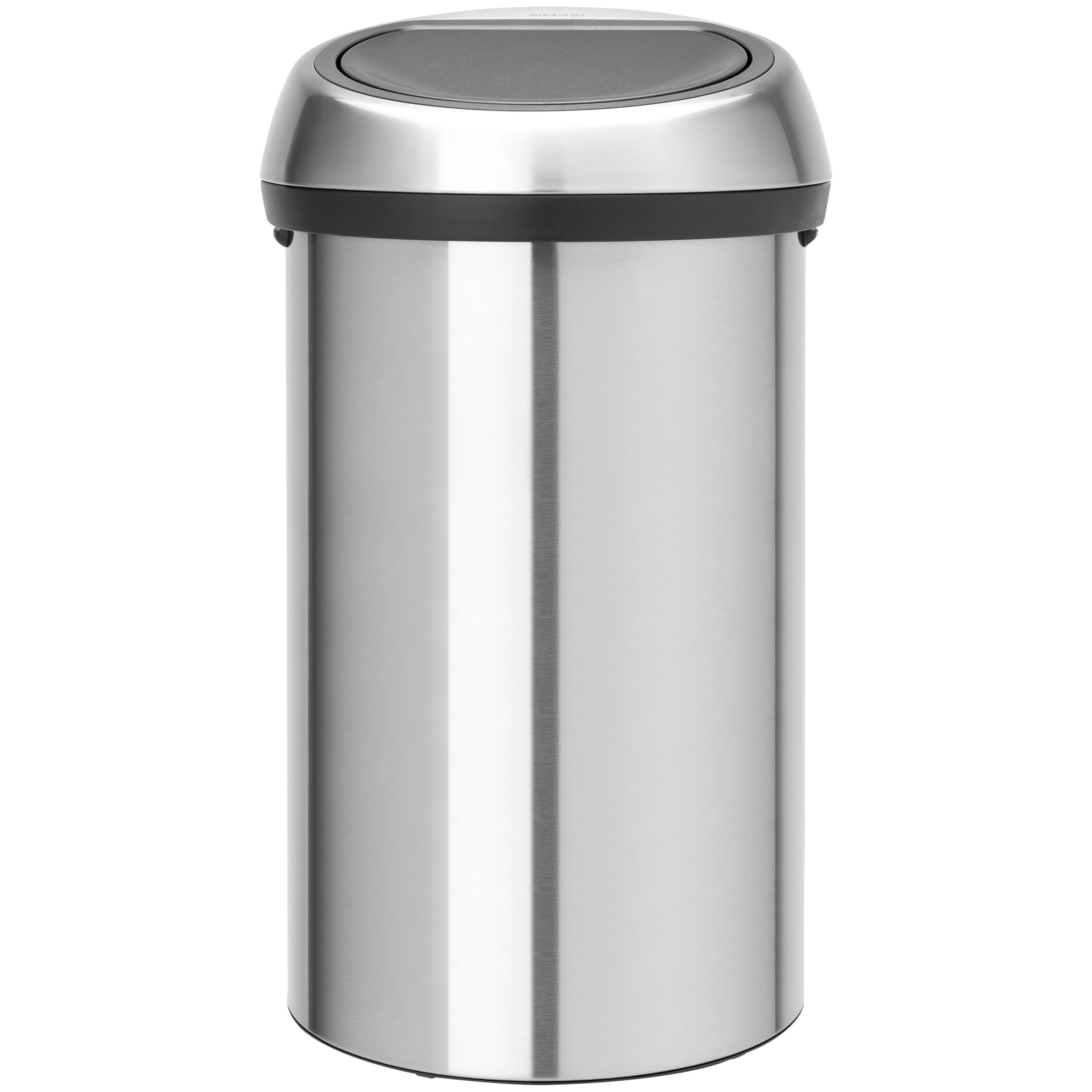 Brabantia Brabantia Touch Bin, Fingerprint Proof Matt Steel, 60L