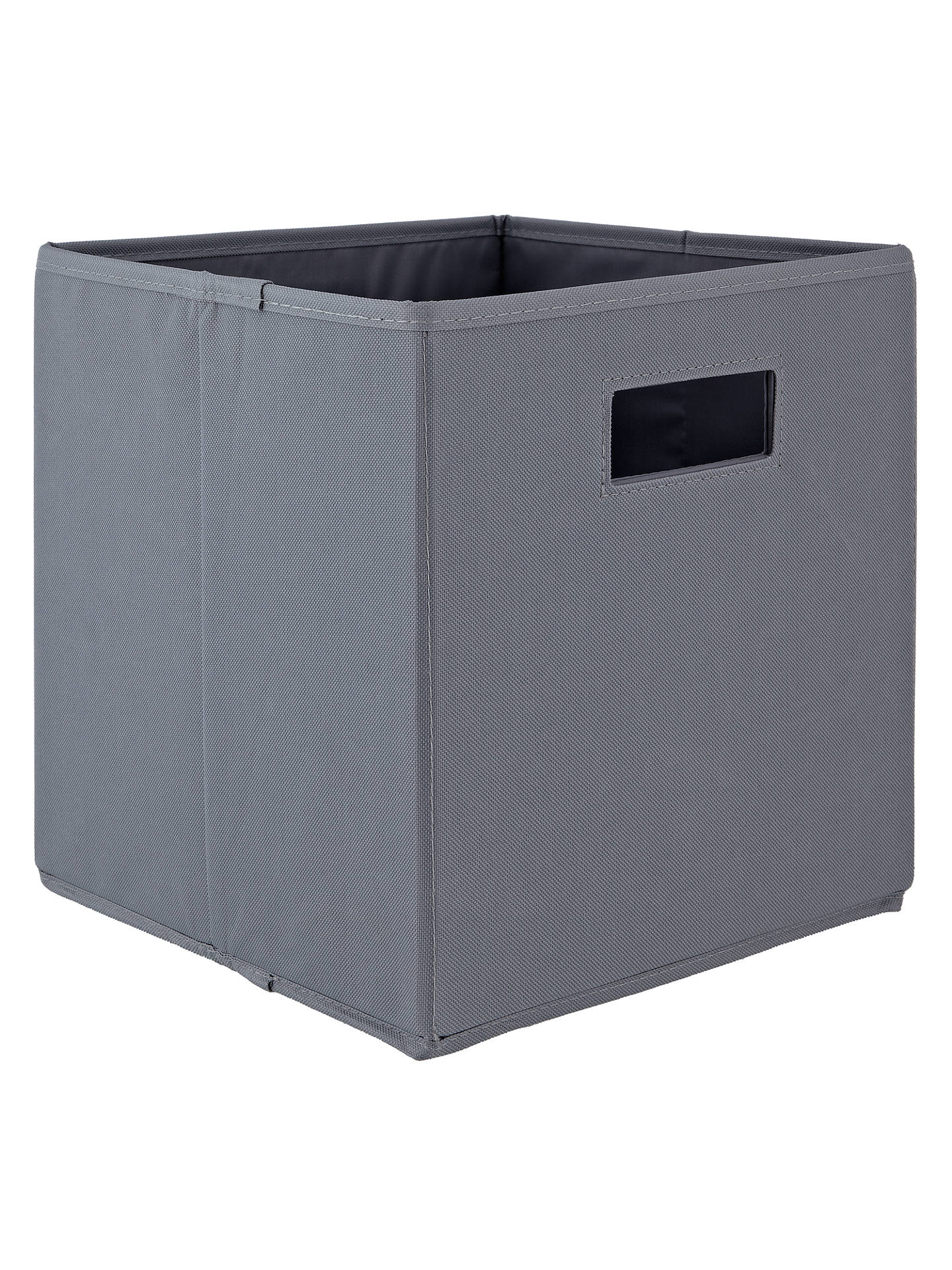 1151c968b05 House by John Lewis Folding Fabric Storage Box at John Lewis   Partners