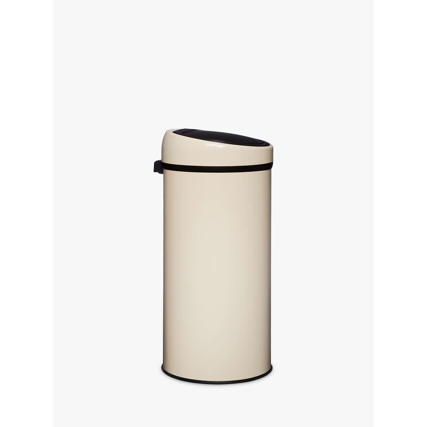 BuyJohn Lewis Touch Top Bin, 30L, Cream Online at johnlewis.com