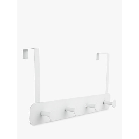 Superb Buy John Lewis Over The Door Hanging Rack, 4 Hook Online At Johnlewis.com  ...