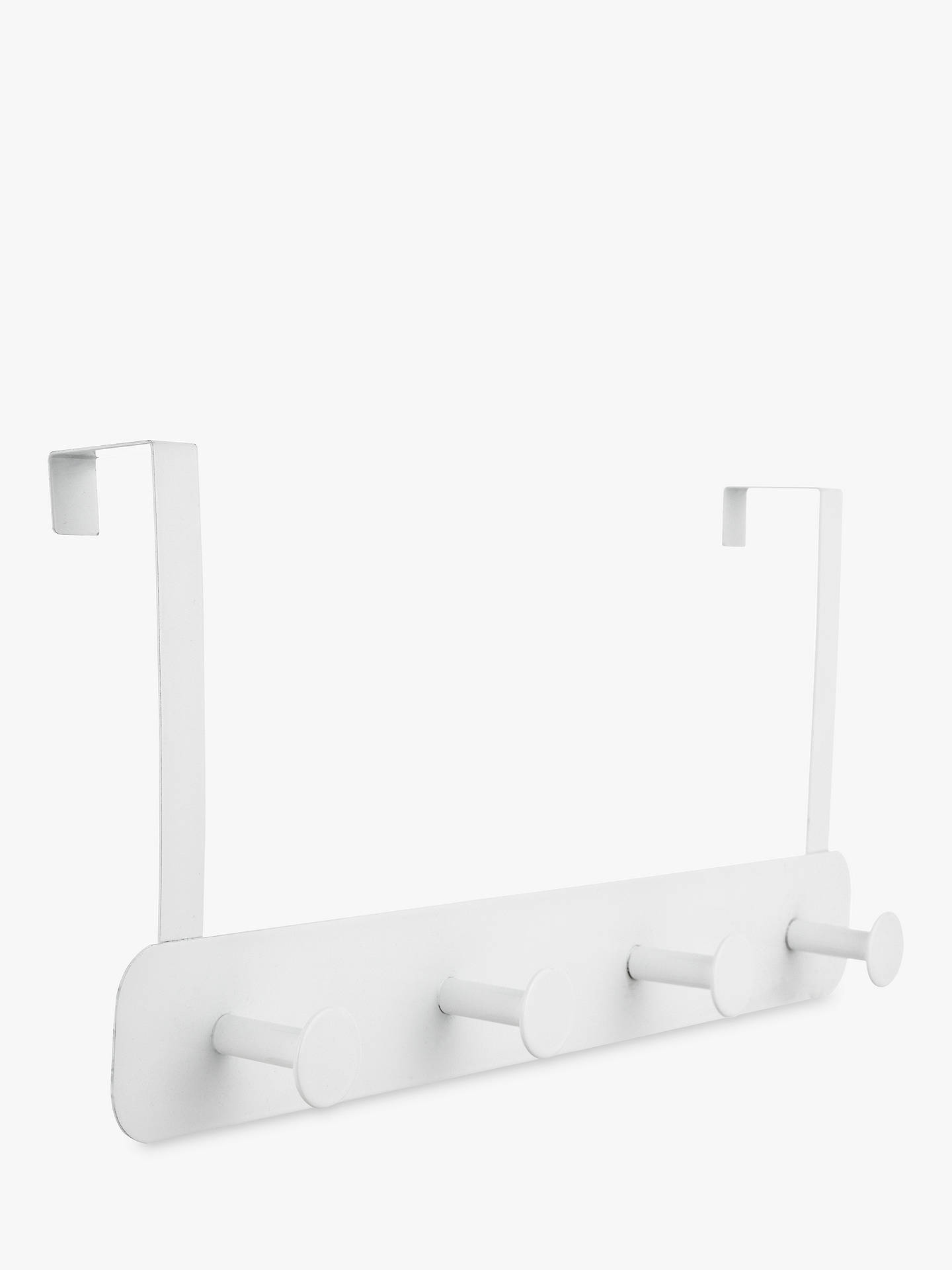 BuyJohn Lewis & Partners Over The Door Hanging Rack, 4 Hook Online at johnlewis.com