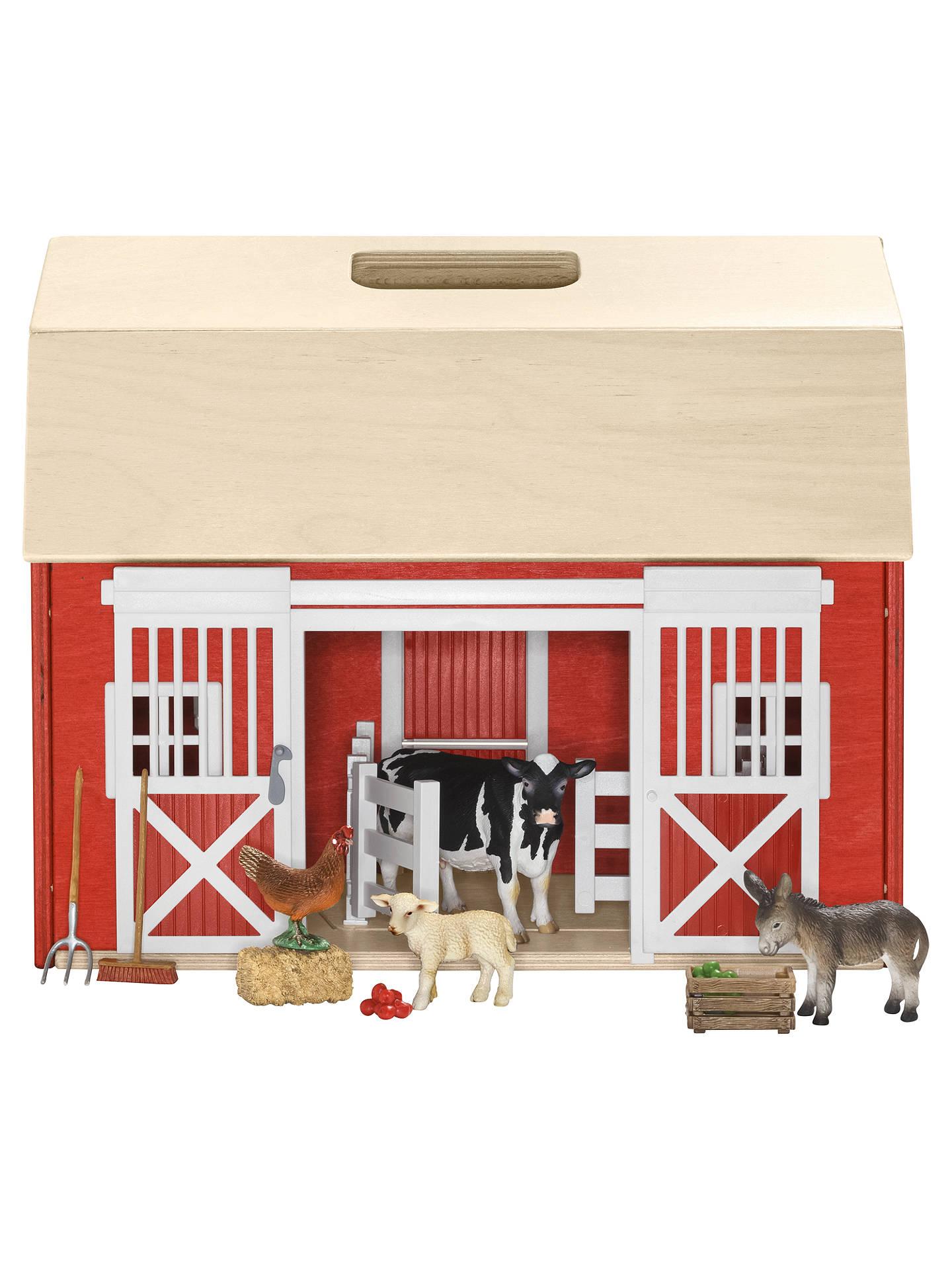 Schleich Farm Life Barn Amp Animals At John Lewis Amp Partners