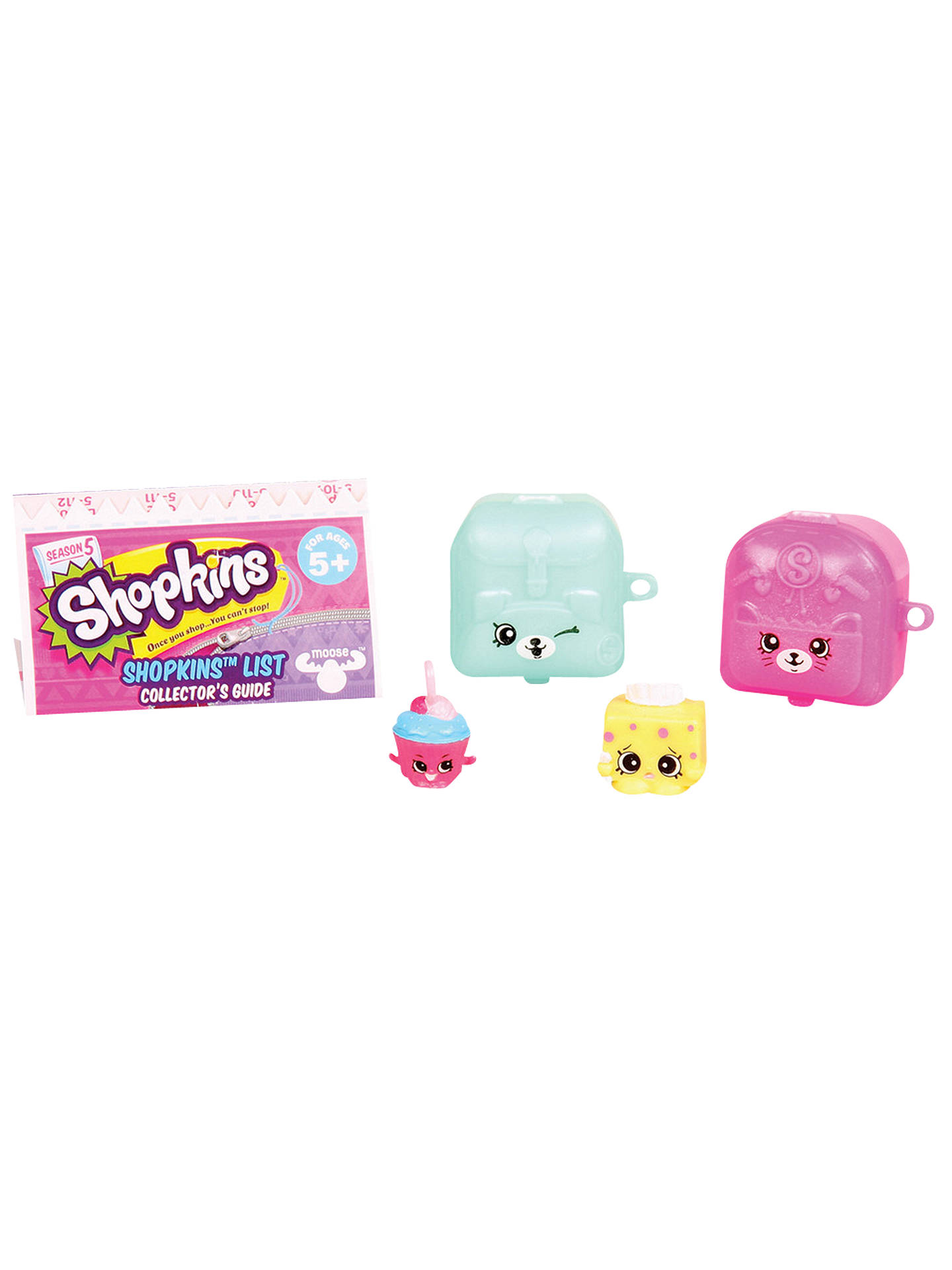Shopkins collectable characters pack of 2 assorted at - John lewis shopkins ...