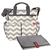 Buy Skip Hop Duo Signature Changing Bag, Chevron Online at johnlewis.com