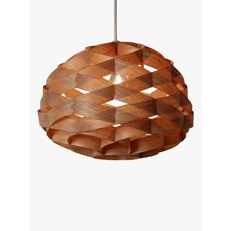 wood veneer lighting. BuyJohn Lewis Alvin Easy-to-Fit Wood Veneer Ceiling Light Online At Johnlewis. Lighting