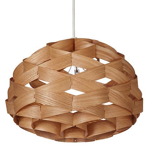 wood veneer lighting. buy john lewis alvin easytofit wood veneer ceiling light online at johnlewis lighting