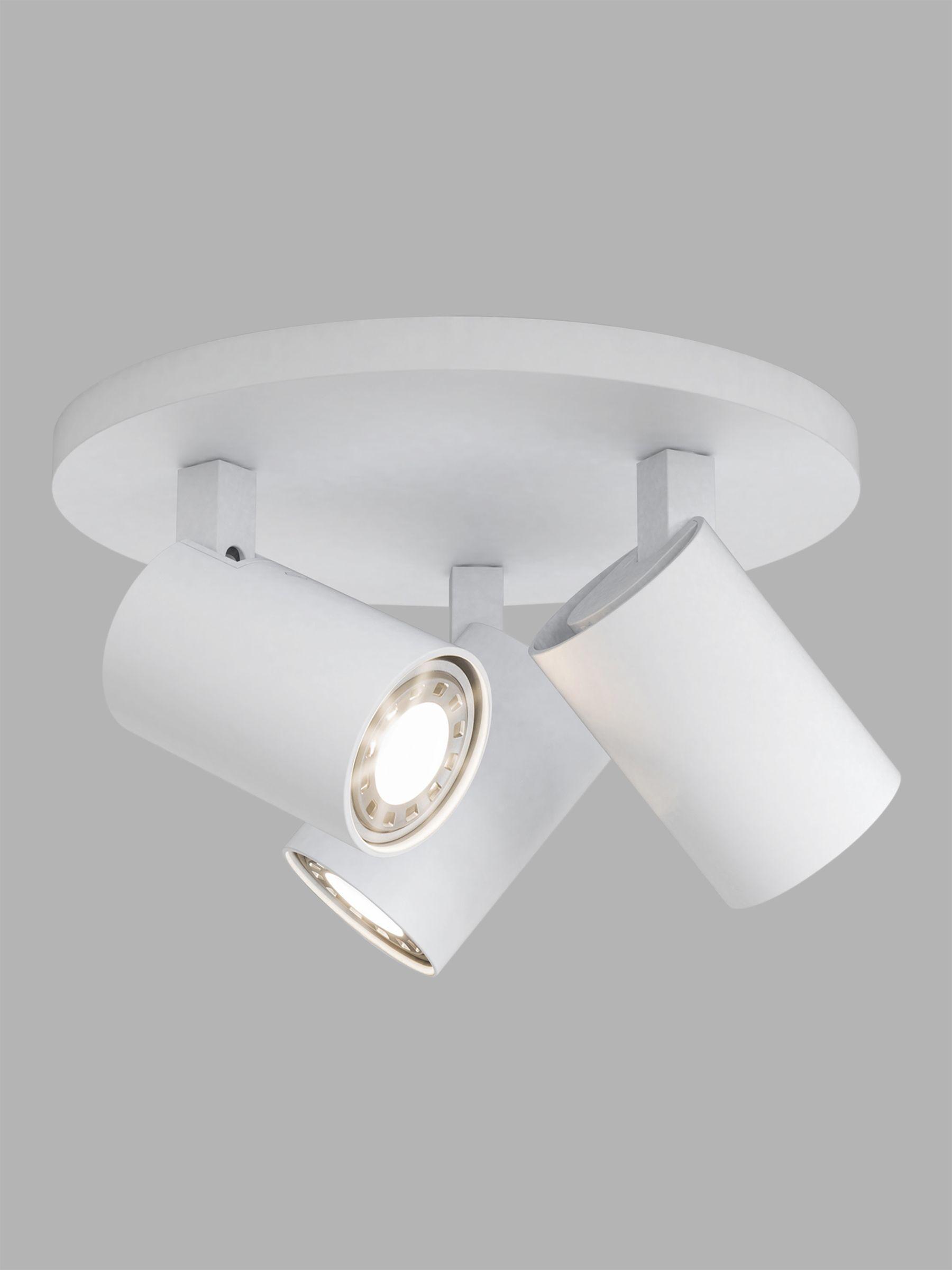 ASTRO Astro Ascoli 3 Spotlight Ceiling Plate, White