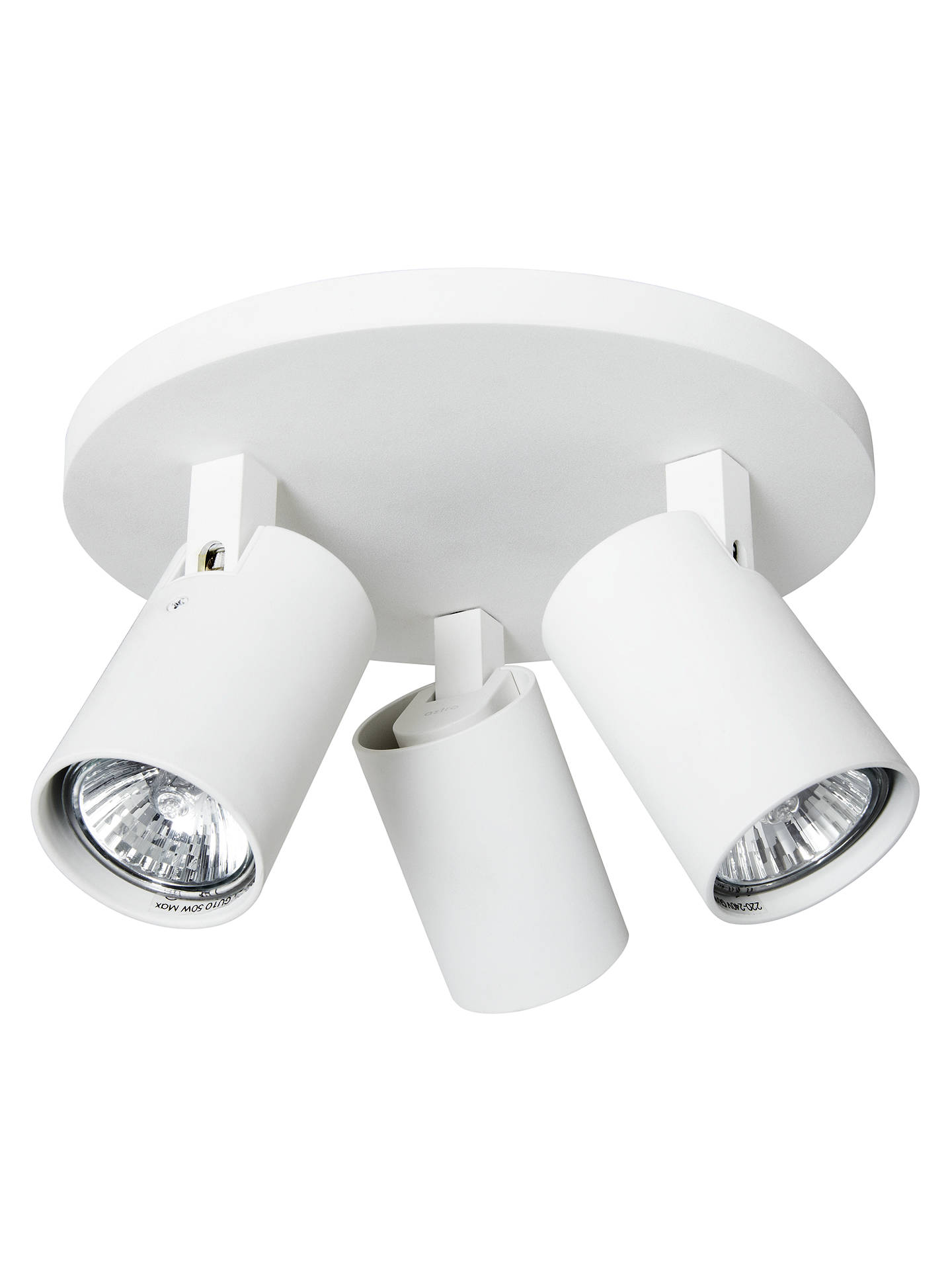 BuyAstro Ascoli 3 Spotlight Ceiling Plate, White Online at johnlewis.com
