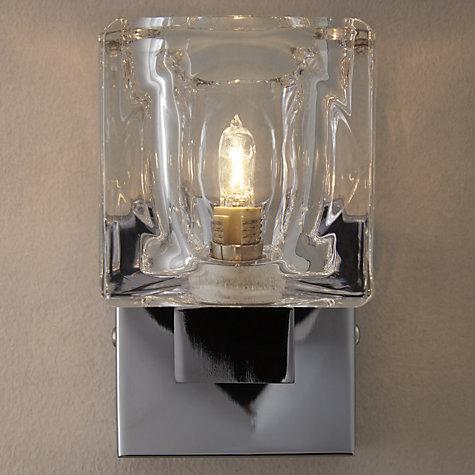 John Lewis Wall Light Fittings: Buy John Lewis Cuboid Single Wall Light Online at johnlewis.com,Lighting