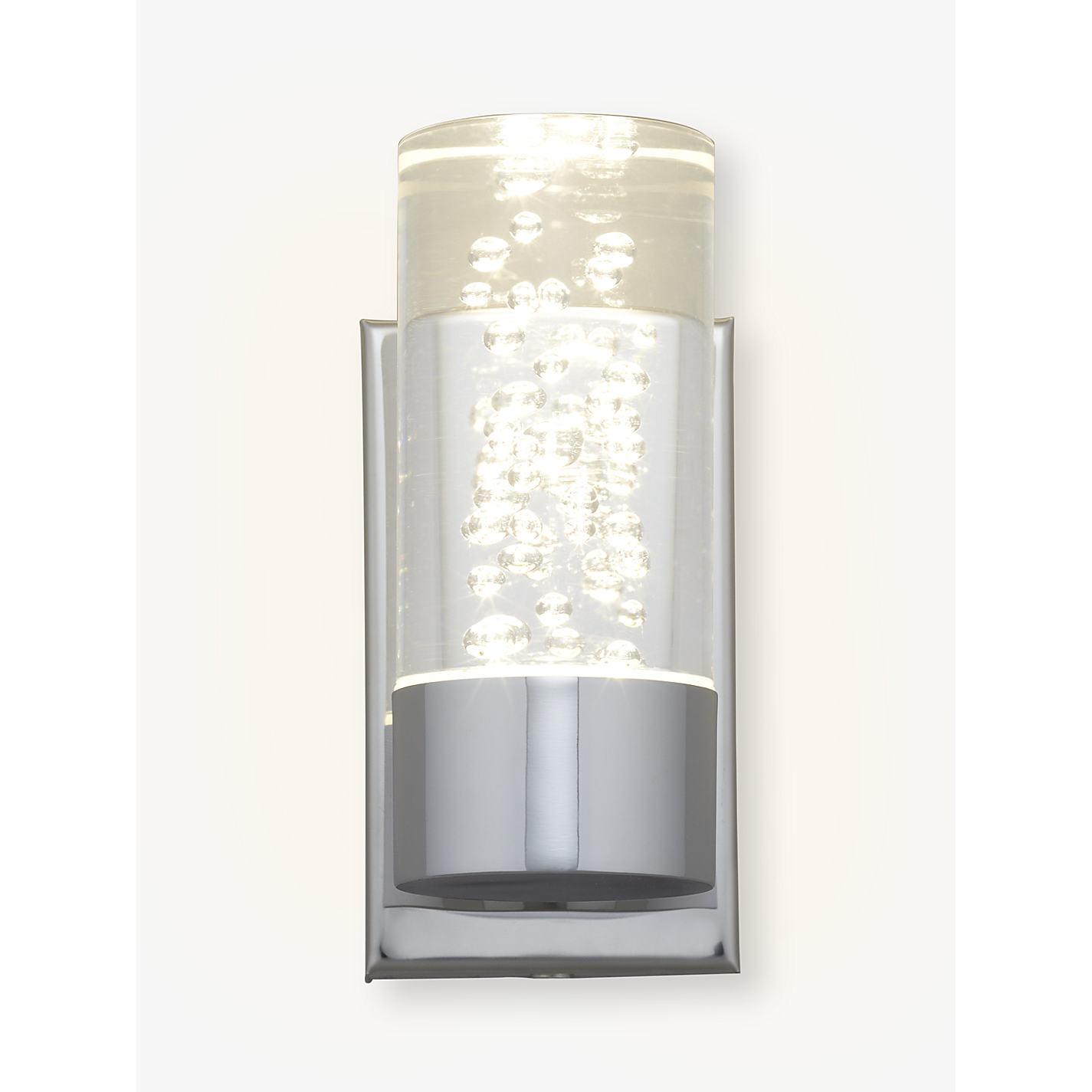 Buy john lewis zeus bubbles bathroom wall light john lewis buy john lewis zeus bubbles bathroom wall light online at johnlewis mozeypictures Image collections
