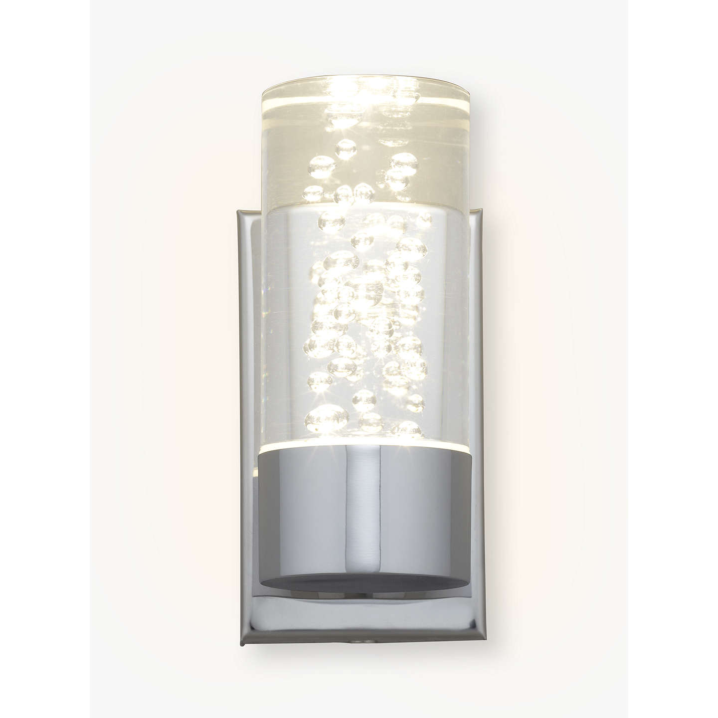 bathroom led wall lights lewis zeus bubbles bathroom wall light at lewis 16048
