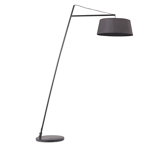 Buy john lewis grayson reach floor lamp grey john lewis for John lewis floor lamp reading