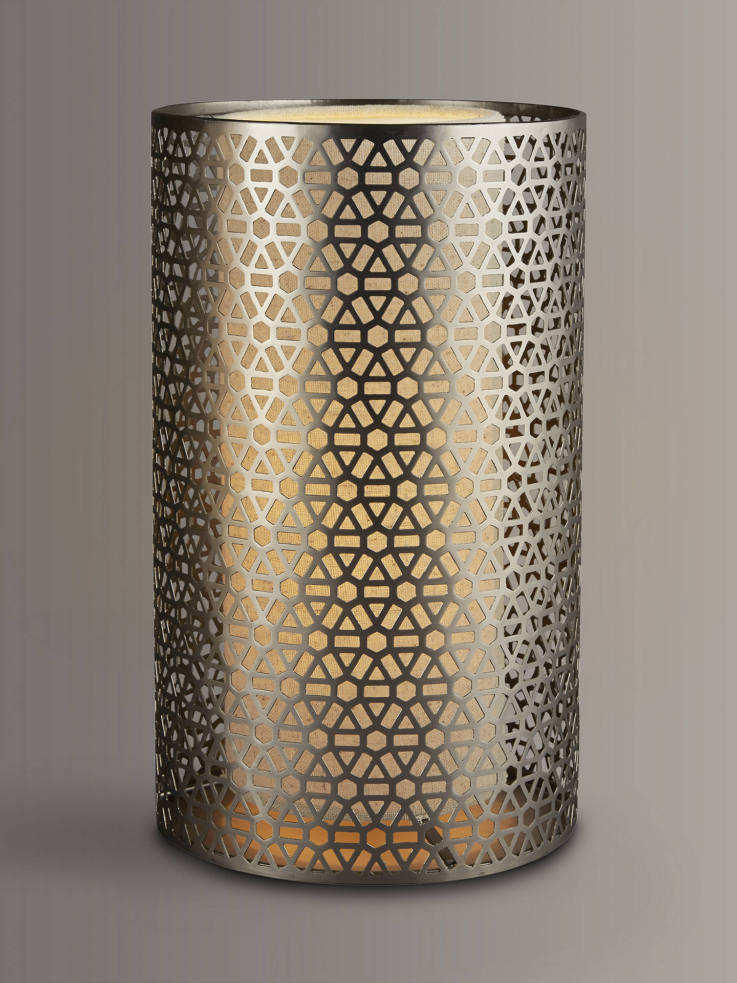 Buy John Lewis & Partners Meena Cutwork Lamp with Diffuser Online at johnlewis.com