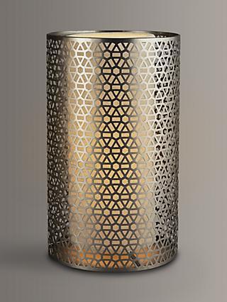 John Lewis & Partners Meena Cutwork Lamp with Diffuser