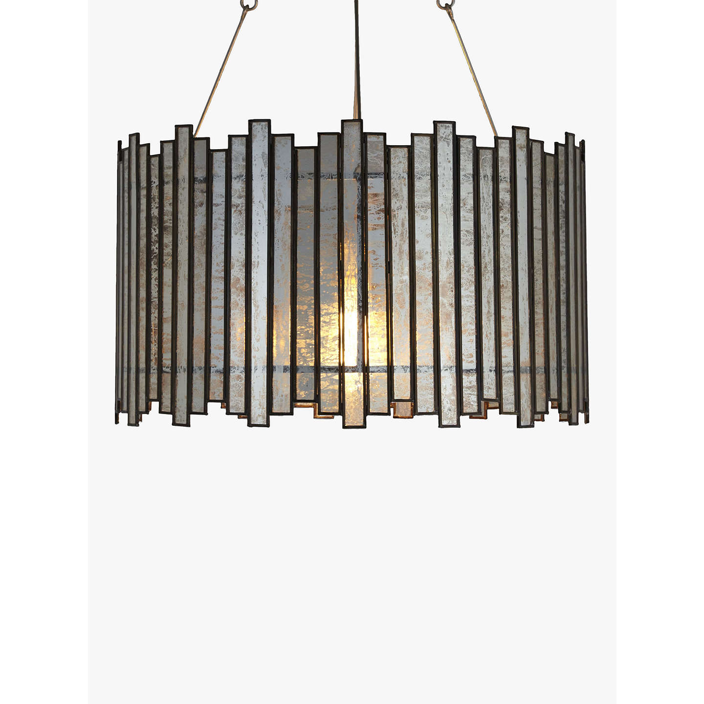 John lewis pandora glass strips pendant light at john lewis buyjohn lewis pandora glass strips pendant light online at johnlewis mozeypictures Image collections