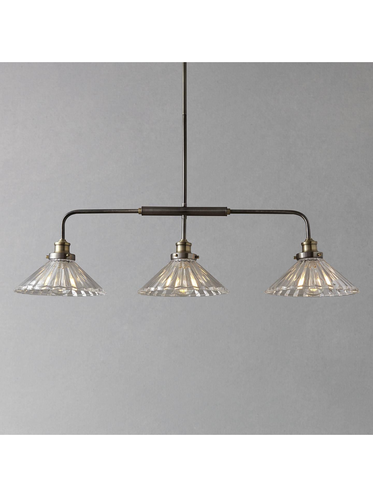 John Lewis Partners Phineas 3 Bar Pendant Light At