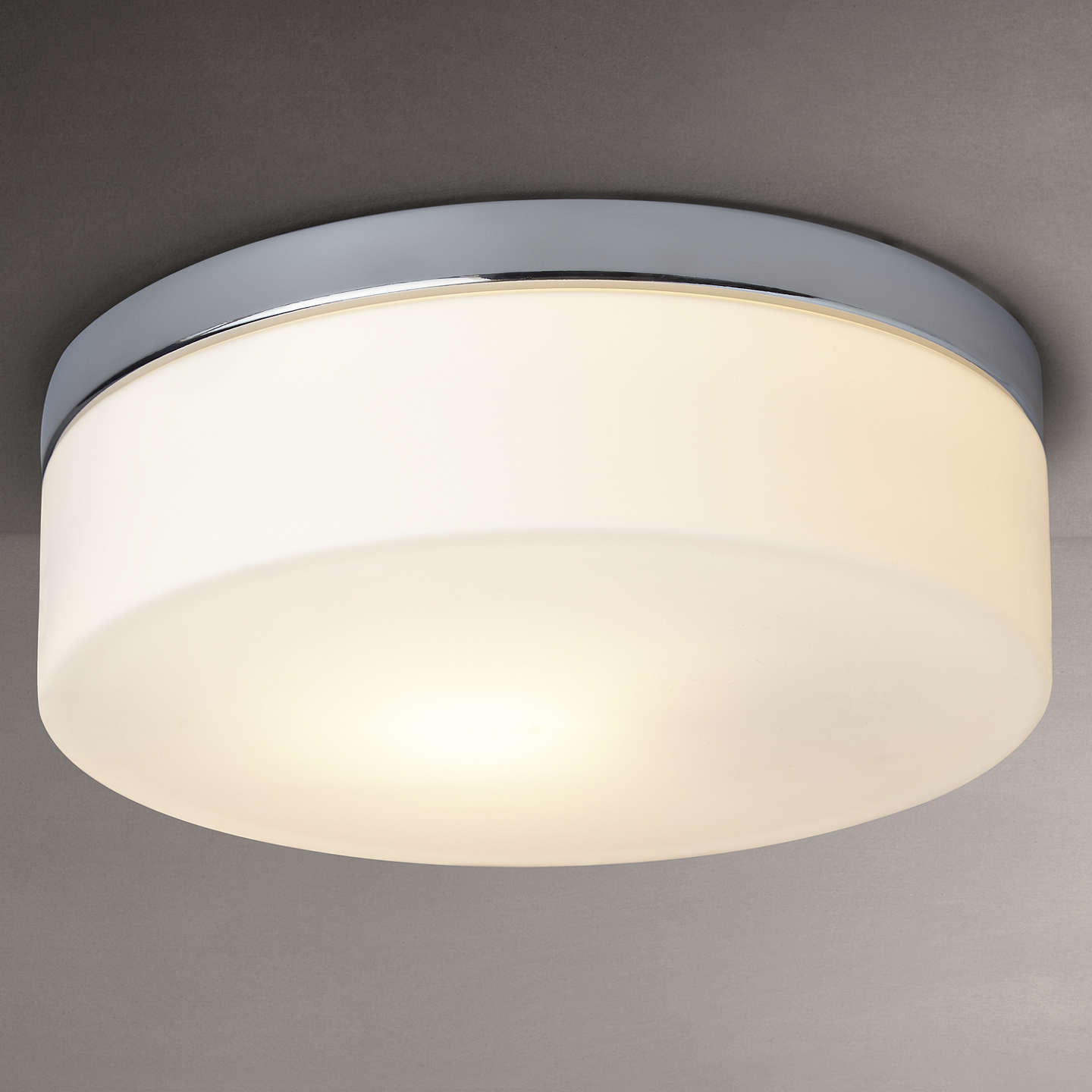Astro sabina round flush bathroom ceiling light at john lewis buyastro sabina round flush bathroom ceiling light online at johnlewis mozeypictures Gallery