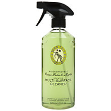 Buy Town Talk Lemon Spray Surface Cleaner, 620ml Online at johnlewis.com