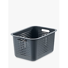 Buy SmartStore by Orthex Basket 20, Grey (16L) Online at johnlewis.com