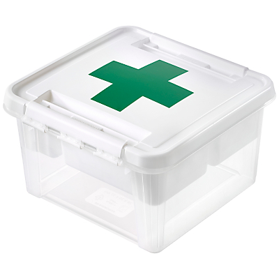 SmartStore by Orthex Deco 12 Plastic First Aid Box (8L)
