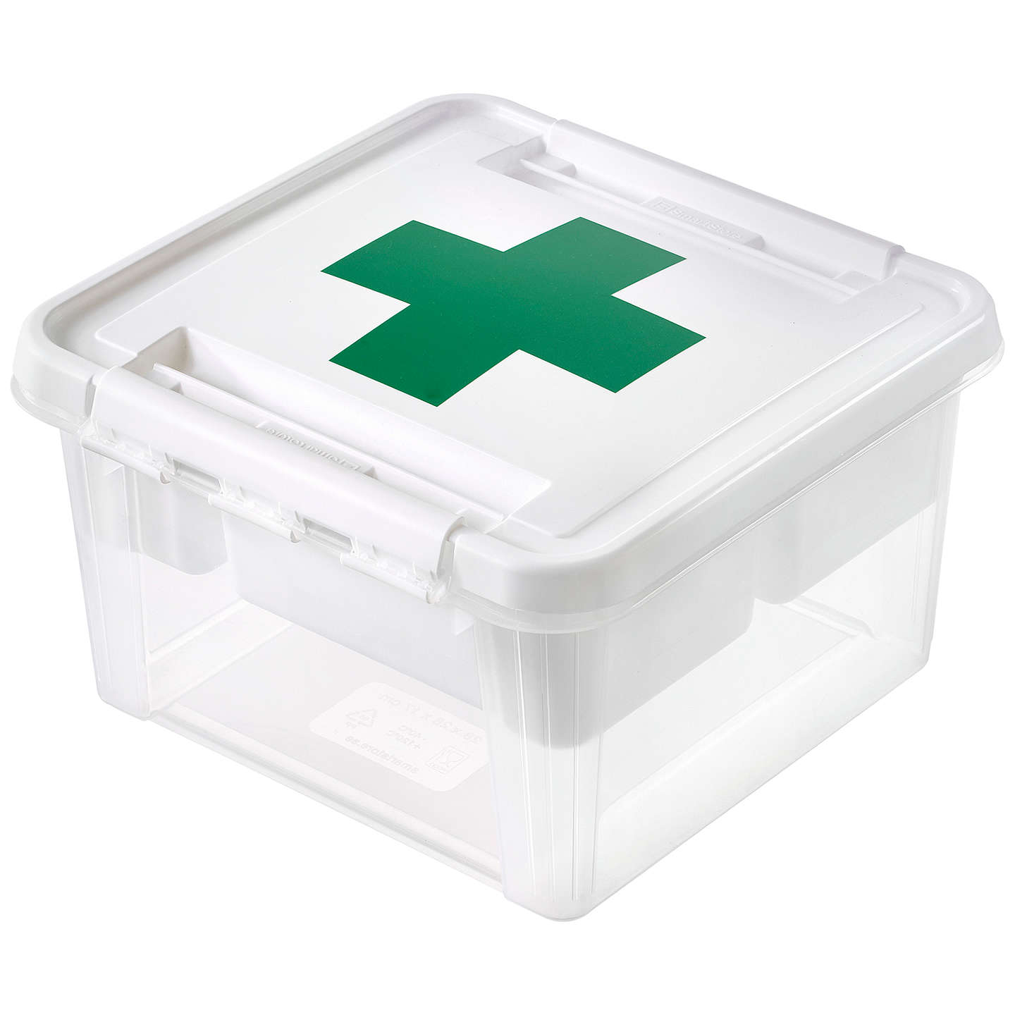 BuySmartStore By Orthex Deco 12 Plastic First Aid Box (8L) Online At  Johnlewis.