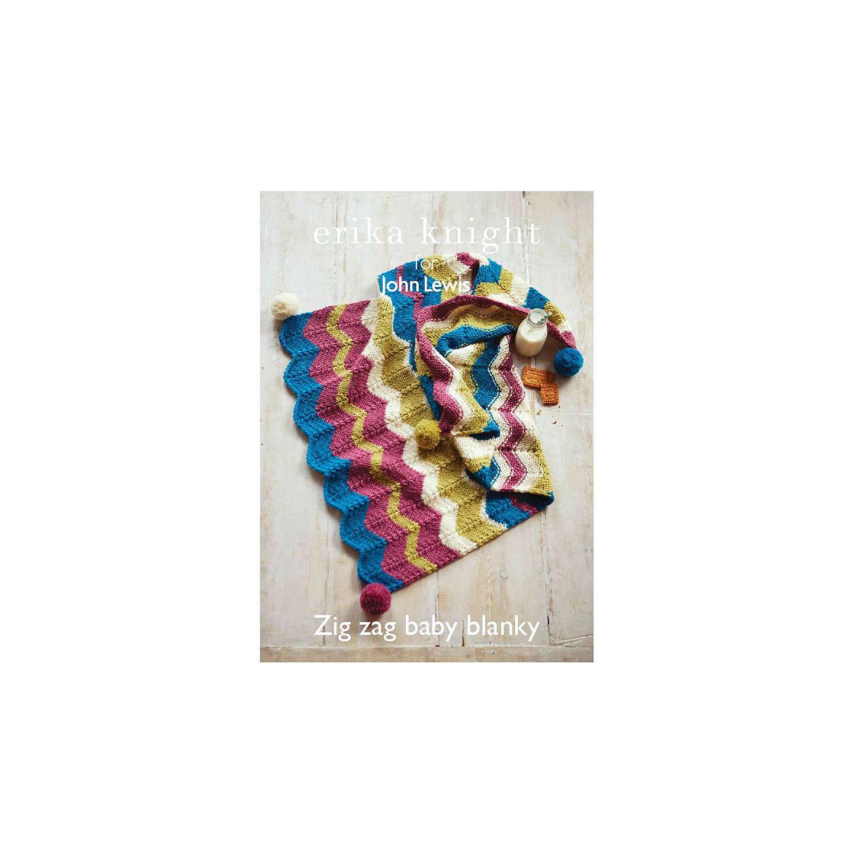 Erika Knight for John Lewis Baby Pram Blanket Knitting Pattern at ...
