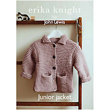 Buy Erika Knight for John Lewis Junior Jacket Knitting Pattern Online at johnlewis.com