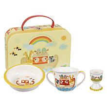 Buy Little Rhymes Noah's Ark Egg Cup, Bowl and Mug Set Online at johnlewis.com
