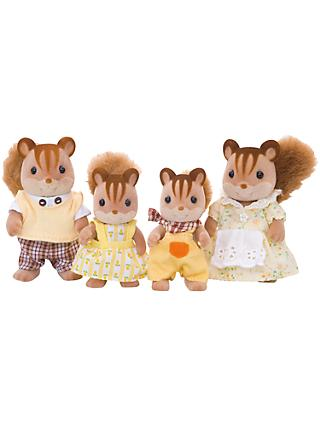 Sylvanian Families Walnut Squirrel Family