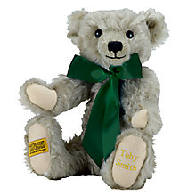 Buy Merrythought Personalised Chester Teddy Bear with Gold Thread Online at johnlewis.com