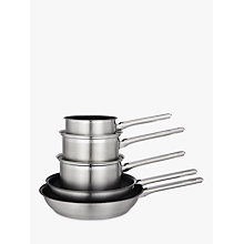Buy John Lewis Classic Pan Set, 5 Pieces Online at johnlewis.com