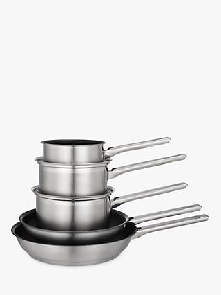 John Lewis & Partners Classic Pan Set, 5 Piece