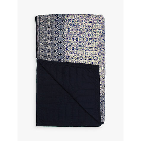Buy John Lewis Aztec Patch Bedspread Online at johnlewis.com