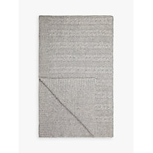 Buy Croft Collection Cashmere Blend Cable Knit Throw Online at johnlewis.com