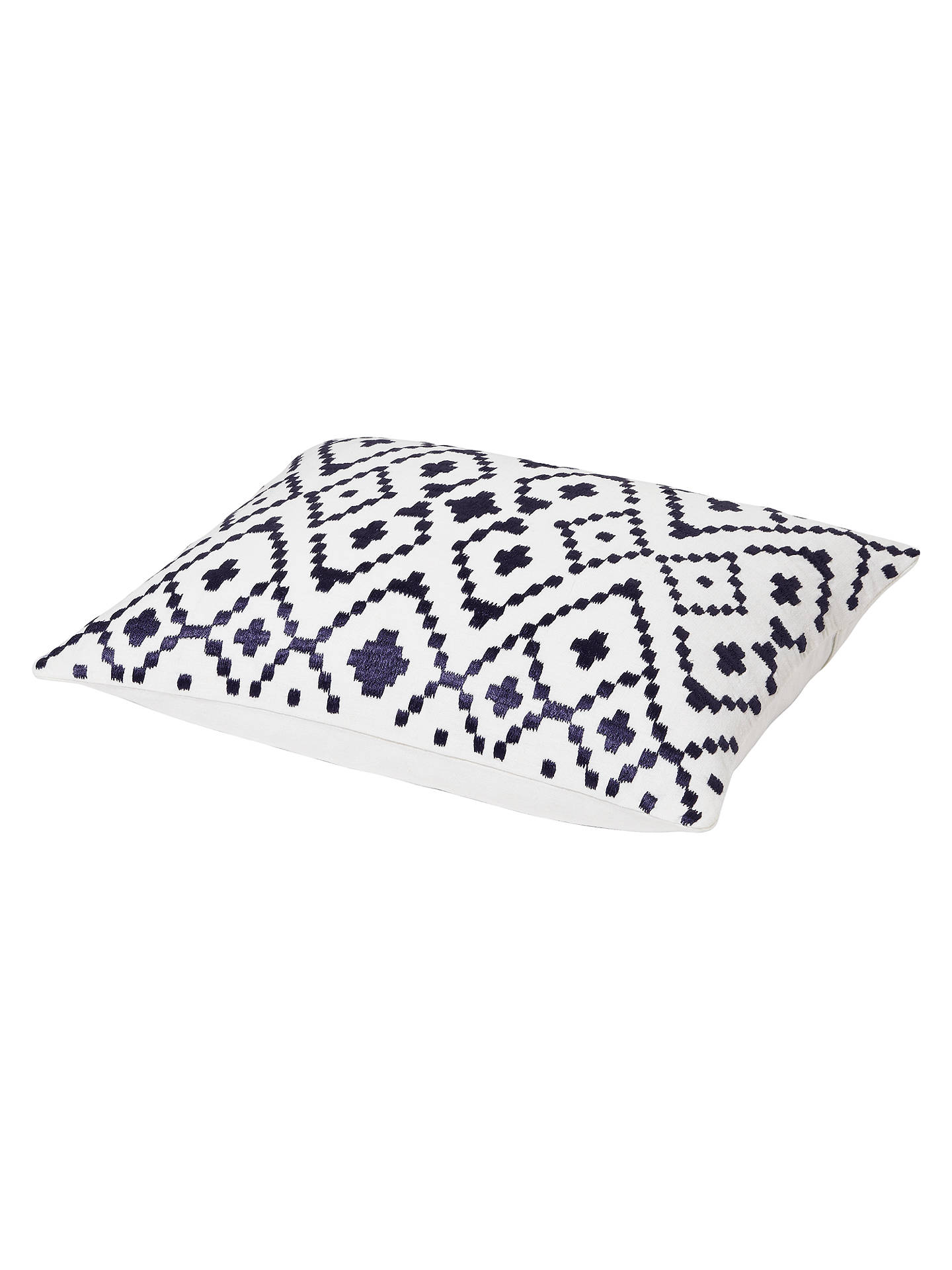 BuyJohn Lewis Fusion Ikat Cushion, Blue Online at johnlewis.com