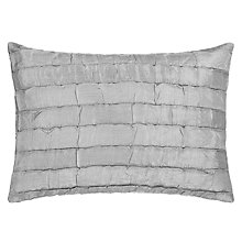 Buy John Lewis Shimmer Cushion, Soft Grey Online at johnlewis.com