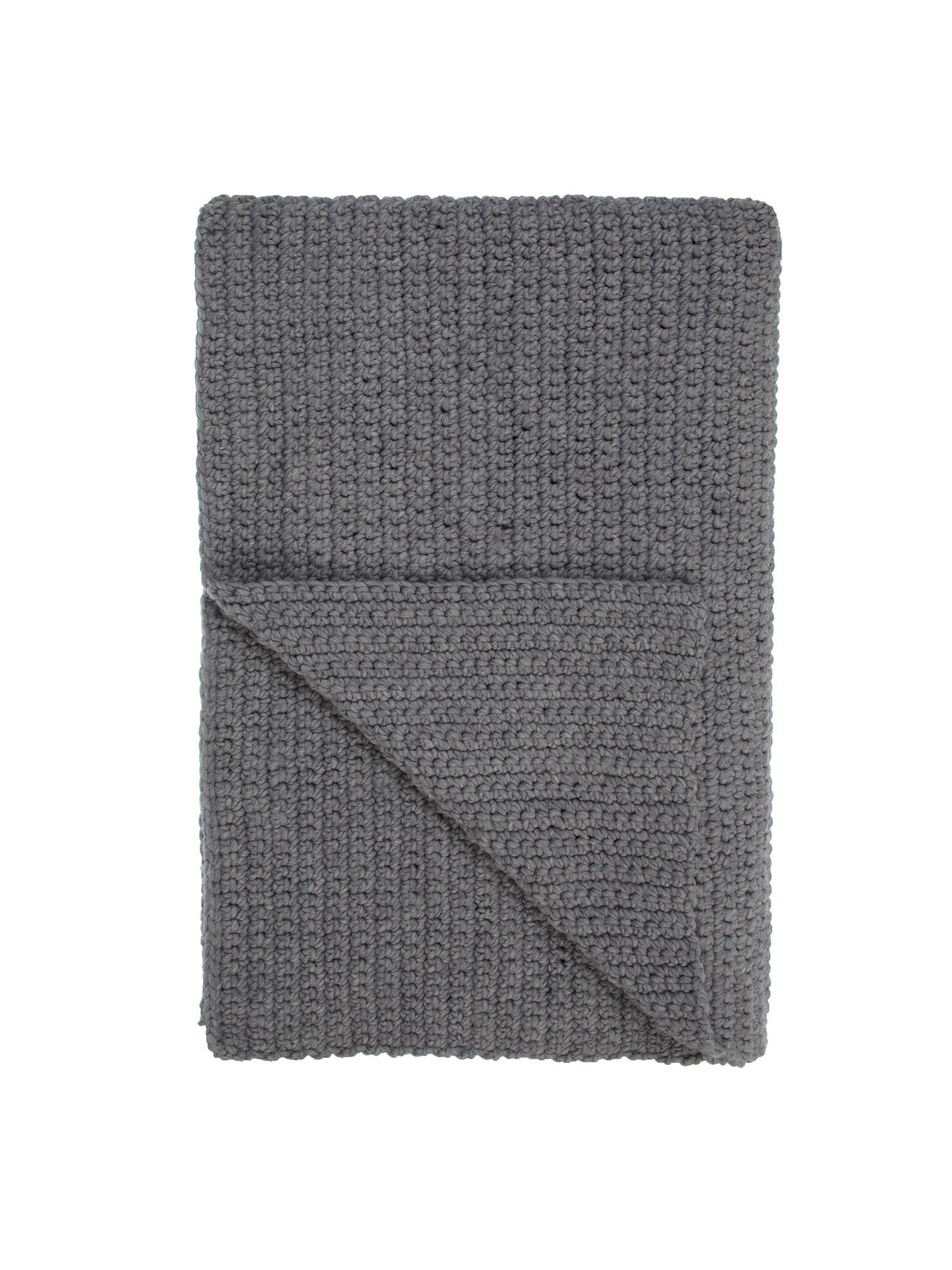 john lewis croft collection ribbed knit throw at john. Black Bedroom Furniture Sets. Home Design Ideas