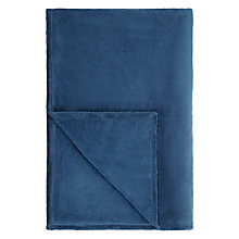 Buy John Lewis Fleece Throw, 270gsm Online at johnlewis.com