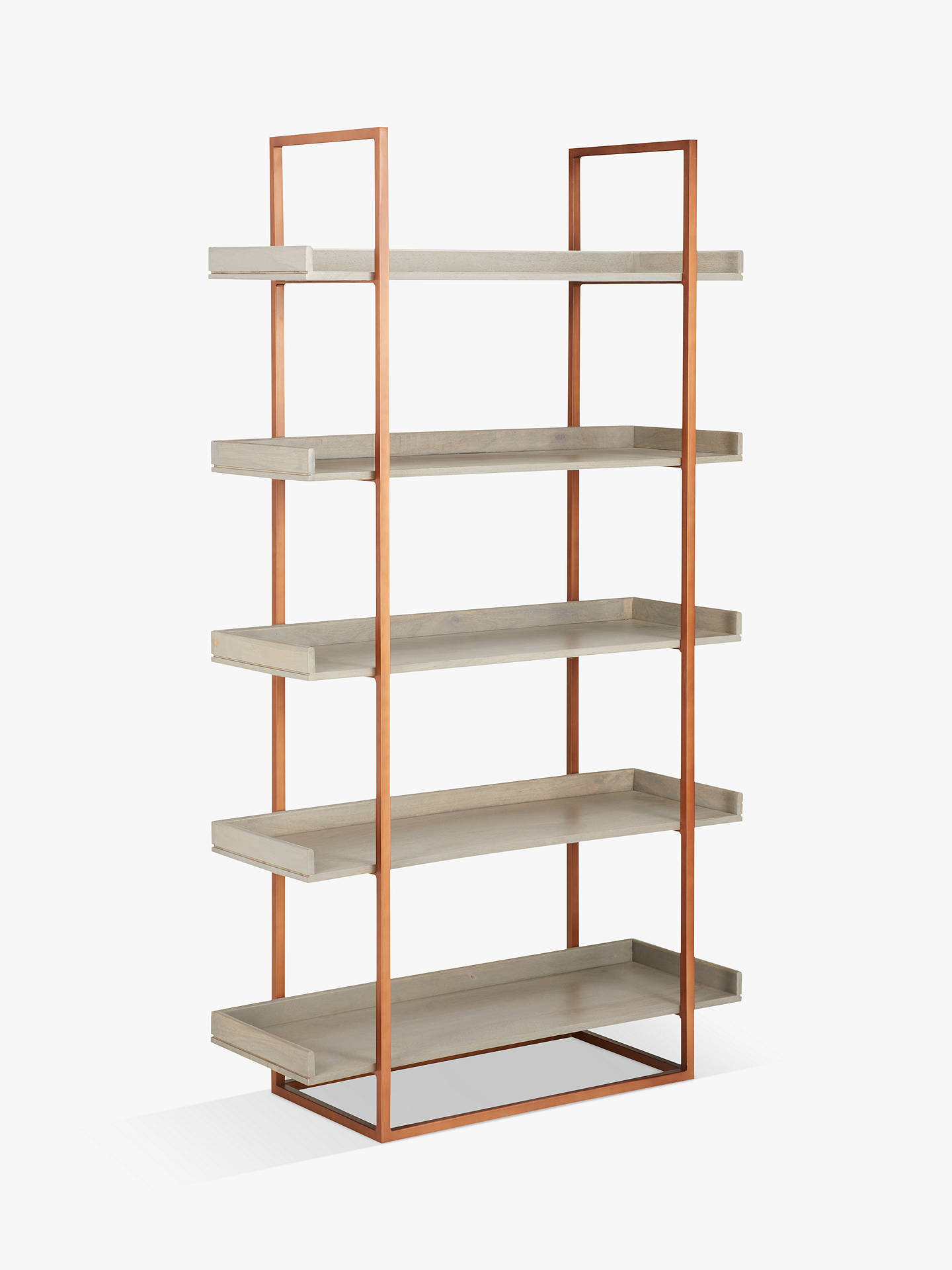 7bd854da0bd5 Buy John Lewis & Partners Asha Tall Bookcase Online at johnlewis. ...