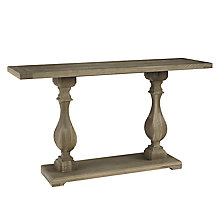 Buy John Lewis Marcelle Pedestal Console Table Online at johnlewis.com