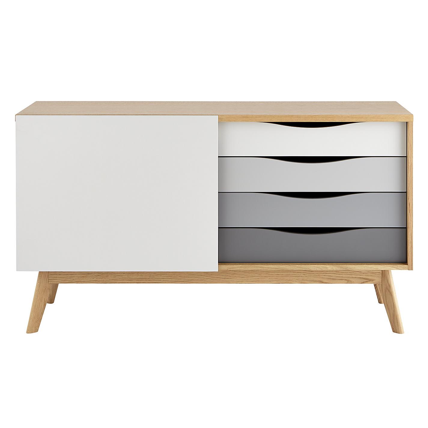 Sideboard klein elegant klein six drawer dresser with for Sideboard alt