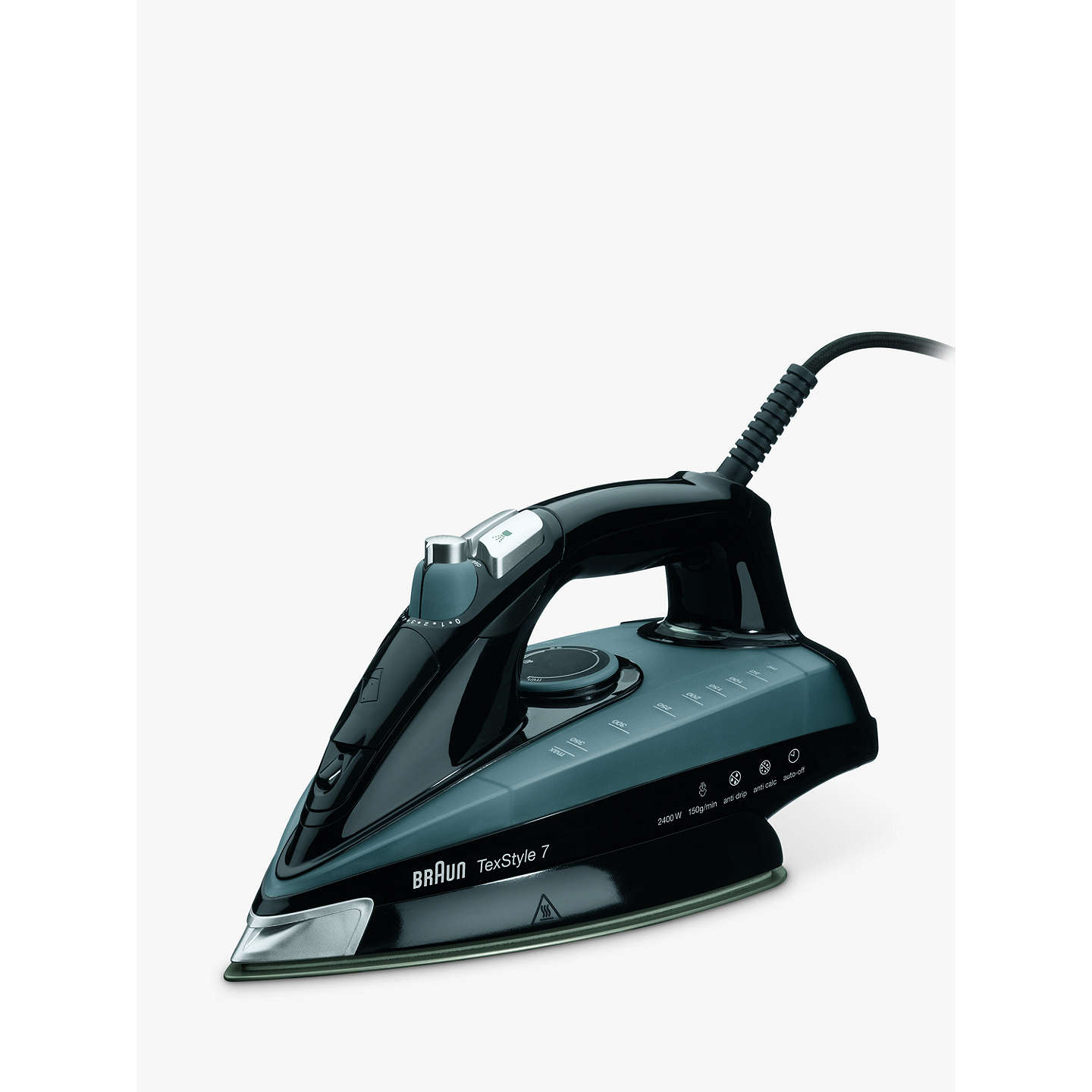 braun ts745a texstyle 7 steam iron at john lewis. Black Bedroom Furniture Sets. Home Design Ideas