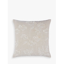 Buy John Lewis Cow Parsley Cushion Online at johnlewis.com