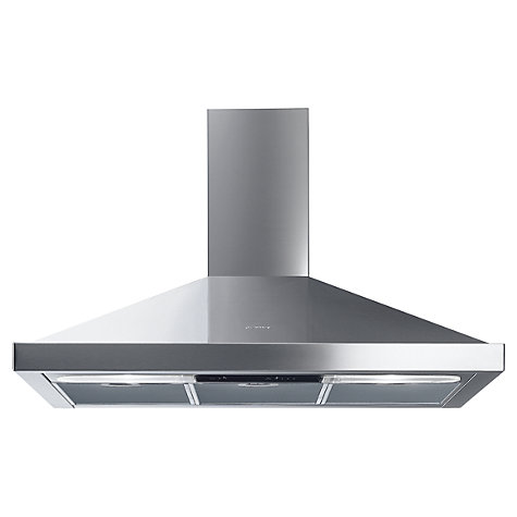 Buy Smeg Cucina KSED92X Chimney Cooker Hood, Stainless Steel Online at johnlewis.com
