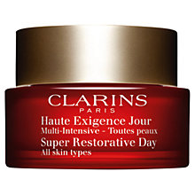 Buy Clarins Super Restorative Day Cream - All Skin Types, 50ml Online at johnlewis.com