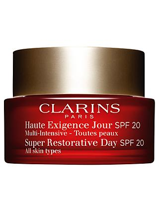 Clarins Super Restorative Day Cream SPF20 - All Skin Types, 50ml