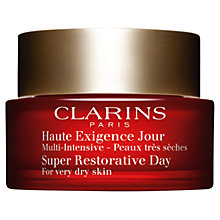 Buy Clarins Super Restorative Day Cream, 50ml Online at johnlewis.com