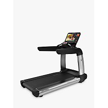 Buy Life Fitness Platinum Club Series Treadmill with Discover SE Tablet Console Online at johnlewis.com